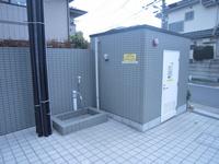 その他設備:散水栓、足洗い場
